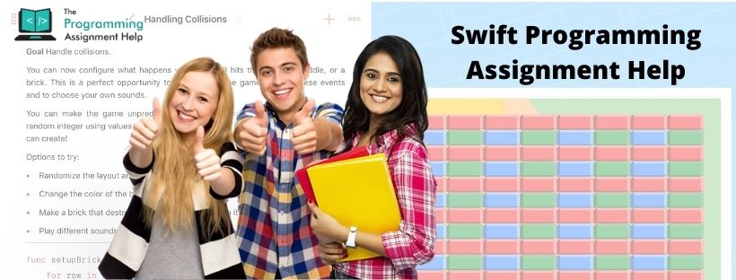 Swift Programming Assignment Help